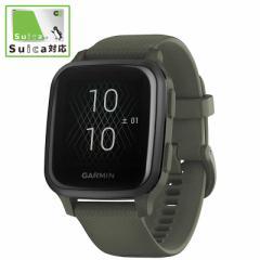 GARMIN Venu Sq Music Moss/Slate [スマートウォッチモード:約6日間 GPSモード+音楽:約6時間 GPSのみ:約14時間] 010-02426-73