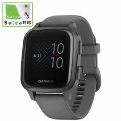 GARMIN Venu Sq Shadow Gray/Slate [スマートウォッチモード:約6日間 GPSのみ:約14時間] 010-02427-70