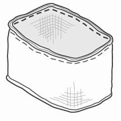 パナソニック Panasonic 加湿器用交換フィルター FE‐ZKE07