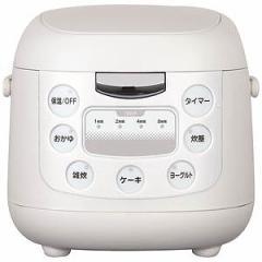 イーバランス コンパクト炊飯ジャー (3.5合) EB‐RM6200K/ホワイト系