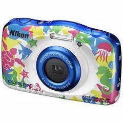 ニコン コンパクトデジタルカメラ COOLPIX(クールピクス) W100(マリン)(送料無料)