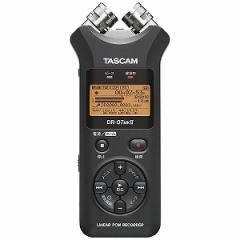 タスカム (ハイレゾ音源対応)リニアPCMレコーダー DR07MK2JJ(送料無料)
