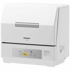 パナソニック Panasonic 食器洗い乾燥機「プチ食洗」(3人用・食器点数18点) NP-TCR4-W (ホワイト)