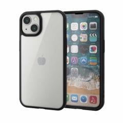 エレコム ELECOM iPhone 13 2眼/ハイブリッドケースTOUGHSLIM PMA21BTS3BK