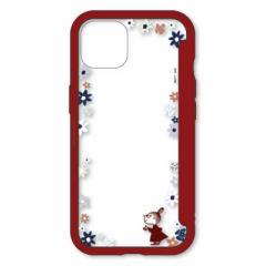 【2021年11月30日発売予定】グルマンディーズ iPhone 13 ムーミン SHOWCASE+ ケース リトルミイ MMN57B