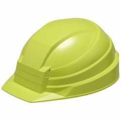 DICプラスチック 折りたたみ防災用ヘルメット「IZANO」AA13型HA4-K13式(グリーン) AA13ガタHA4K13シキ(グリ