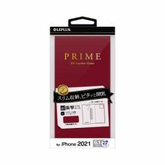 MSソリューションズ iPhone 13対応 6.1inch 2眼 PUレザー PRIME LPIM21PRIRD