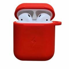 ROOX ワイヤレス充電シリコンカバー AirPodsケース レッド C-Tools YHDCHCAP2RD