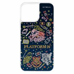 INGREM iPhone 13 Pro Max /『ハリー・ポッター』/ラメ グリッターケース/ 9と4分の3番線 イングレム IJWP33LG1SHP8