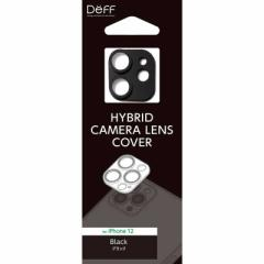 DEFF HYBRID CAMERA LENS COVER for iPhone 12 DG-IP20MGA2BK ブラック