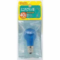 ELPA ミニクリ 40W 昼光 G-100H(D)
