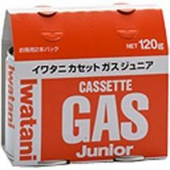 岩谷産業 カセットガスジュニア(2本セット) CB-JR-120P