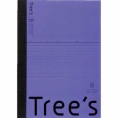 キョクトウアソシエイツ Trees B5 B罫30枚 バイオレット バイオレット UTR3BV
