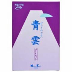 日本香堂 「青雲」バイオレット 大型「ろうそく・線香」 セイウンバイオレット オオガタバラ