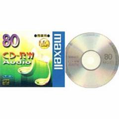 マクセル 音楽用CD-RW 1枚 CDRWA80MQ.1TP