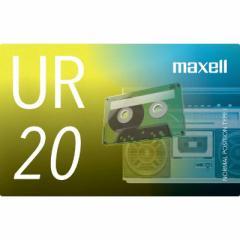 マクセル オーディオカセットテープ20分1巻 UR-20N