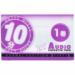 薦田紙工業 カセットテープ 10分 1本 VD107