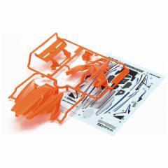 タミヤ TAMIYA ミニ四駆 ミニ四駆特別企画 DCR-02(デクロス-02) ボディパーツセット(蛍光オレンジ) ミニ4DCRボディオレンジ