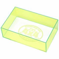 タミヤ TAMIYA ミニ四駆 ミニ四駆特別企画 チェックボックス(全長・最大幅)ネオングリーン
