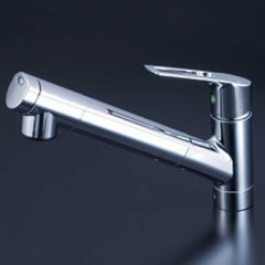 KVK 浄水器内蔵シングルレバー式シャワー付混合水栓 KM6001JEC KM6001JEC