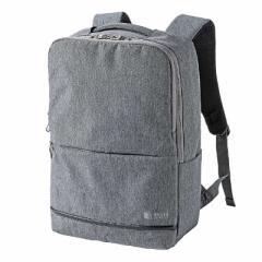 サンワサプライ カジュアルPCバックパック BAG-BP16GY