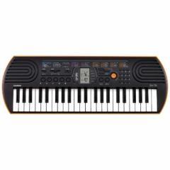 カシオ CASIO ミニキーボード(ブラック/オレンジ・44鍵盤) SA-76