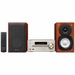 ケンウッド 【ハイレゾ音源対応】Bluetooth対応 ミニコンポ(ゴールド) K-515-N 【ワイドFM対応】