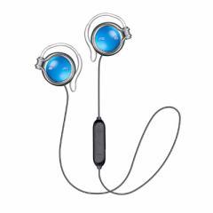 JVC ブルートゥースイヤホン 耳かけ型[マイク対応] HA-AL102BT-A ラピスブルー