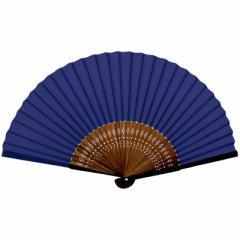 新日本カレンダー 扇子 紫紺 661 紫紺
