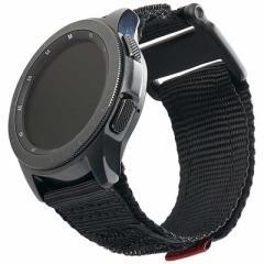 UAG UAG社製 Galaxy Watchバンド GalaxyWatch 42mm用 ACTIVEシリーズ(ブラック) UAG-RGWSA-BK