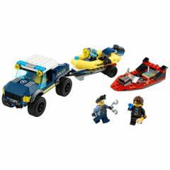 レゴジャパン LEGO(レゴ) エリートポリス 60272 シティ ボートでの護送