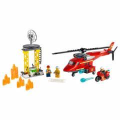 レゴジャパン レゴブロック シティ 60281 消防レスキューヘリ