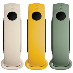 XIAOMI Mi スマートバンド 6用 リストバンド3本セット ホワイト/グリーン/イエロー BHR5135GL