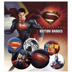 SUPERMAN スーパーマン - Film Pack / バッジ 【公式 / オフィシャル】