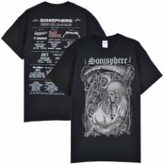 SONISPHERE FESTIVAL ソニスフィア - Godmachine(BABYMETAL / ベビーメタル出演) / Tシャツ / メンズ 【公式