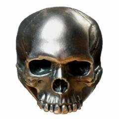 KEITH RICHARDS キースリチャーズ - THE DEATHS HEAD SKULL RING / COURTS AND HACKETT(ブランド) / 指輪(リング