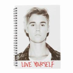 JUSTIN BIEBER ジャスティンビーバー - A5 Love Yourself Notebook / ノート 【公式 / オフィシャル】