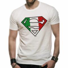 SUPERMAN スーパーマン - ITALIAN FLAG / Tシャツ / メンズ 【公式 / オフィシャル】