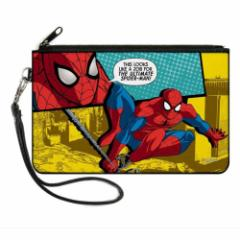 SPIDERMAN スパイダーマン - THIS LOOKS LIKE A JOB FOR THE ULTIMATE SPIDER-MAN! / 財布 【公式 / オフィシャル】