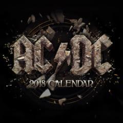 AC/DC エーシーディーシー - 2018年カレンダー / カレンダー 【公式 / オフィシャル】