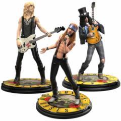 GUNS N ROSES ガンズアンドローゼズ - Rock Iconz Statue Set / フィギュア・人形 【公式 / オフィシャル】