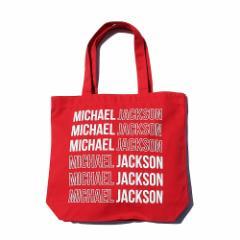 MICHAEL JACKSON マイケルジャクソン - Signature and Logo / トートバッグ 【公式 / オフィシャル】