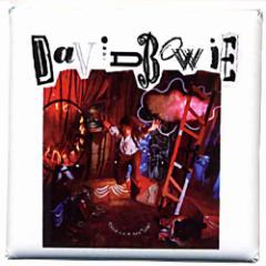DAVID BOWIE デヴィッド・ボウイ - Let Me Down / バッジ 【公式 / オフィシャル】