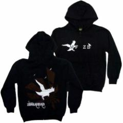 秋冬物 ZEBRAHEAD ゼブラヘッド -  Crow Hoodie / ジップ / スウェット・パーカー / メンズ 【公式 / オ
