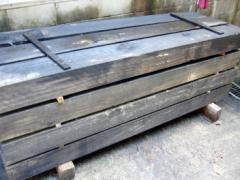 防腐防虫加工済み!新品枕木長さ2メートル10P01Oct16