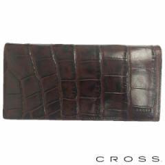 クロス CROSS ウォレット 財布 メンズ ロング 長財布 COCO 束入れ ブラウン AC-198370-29 即納