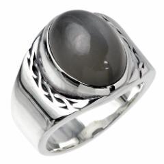 フリースタイル FREE STYLE シルバー リング 指輪 メンズ レディース グレームーンストーン 9〜23号 FSR-640