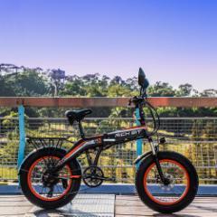 ポイント5倍還元・RICH BIT TOP016 【電動MTBバイク 電動アシスト自転車 電動自転車】四色(オレンジ)