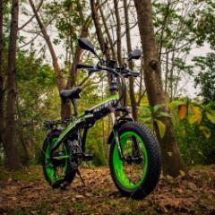 新春限定セール 10%割引・RICH BIT TOP016【電動MTBバイク 電動アシスト自転車 電動自転車】四色(グリーン)
