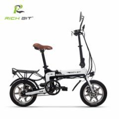 次世代ハイブリッドSmart eBike RICHBIT TOP619,世界最軽量級電動バイク